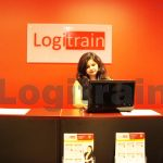Image of a reception area at Logitrain