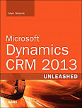 Image of the book Microsoft Dynamics CRM 2013, this is included with the training course at Logitrain