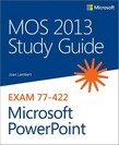 Image of the book Exam 77-422 Microsoft PowerPoint, this is included with the training course at Logitrain