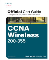 Image of the book CCNA Wireless 200-355, this is included with the training course at Logitrain