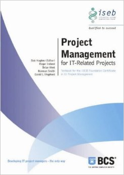 Image of the book Project Management for IT-Related Projects, this is included with the training course at Logitrain