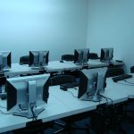 Image of a computer and IT lab at Logitrain