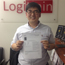 Image of a student who has attended training at Logitrain