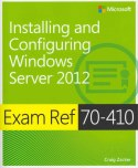 Image of the book Installing and Configuring Windows Server 2012, this is included with the training course at Logitrain