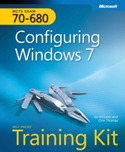 Image of the book Configuring Windows 7 , this is included with the training course at Logitrain
