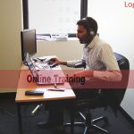 Image of an online live training being delivered at Logitrain