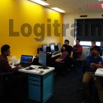 Image of a course being delivered at Logitrain