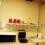 Image of a kitchen area at Logitrain