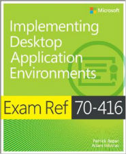 Image of the book Implementing Desktop Application Environments, this is included with the training course at Logitrain