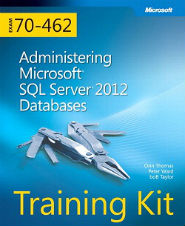 Image of the book Administering Microsoft SQL Server 2012 Databases, this is included with the training course at Logitrain
