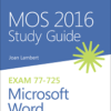 MOS Word 2016 Course Material