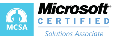 MCSA certification Logo