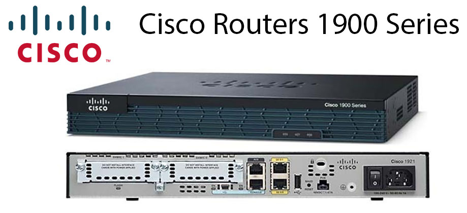 Cisco routers 1900 series