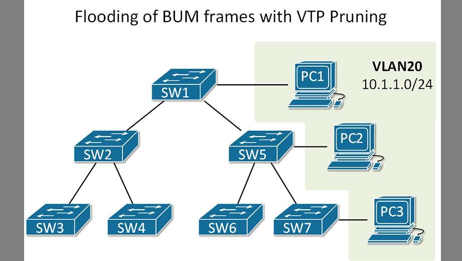VTP version 2 and version 3