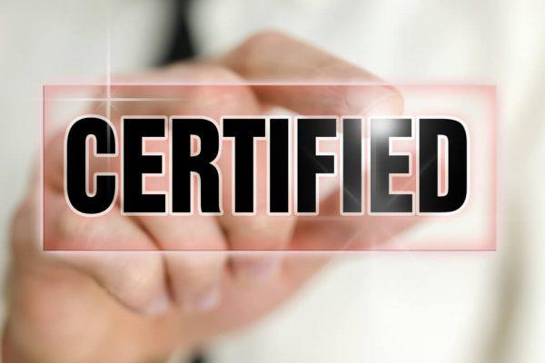 Prefer Certified Professionals
